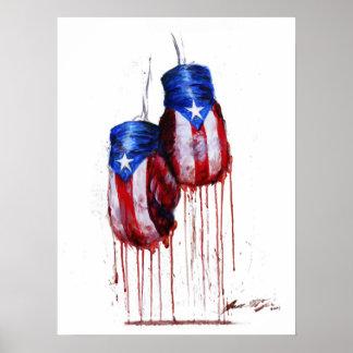 Geist des puertorikanischen Verpackens Plakate