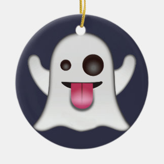Geist emoji keramik ornament
