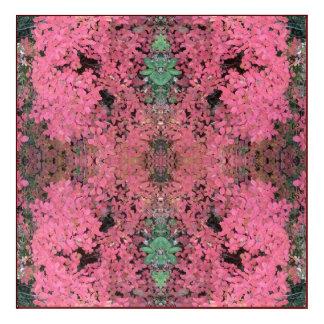 Geist Rot-des Blätter der Pflanzen-779 des Acryl Wandkunst