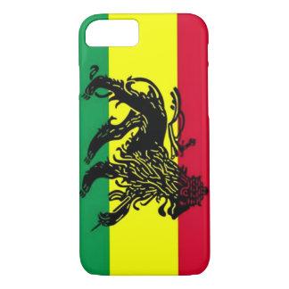 Geist von Jamaika-Löwe-Flagge iPhone 7 Fall iPhone 8/7 Hülle