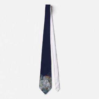 Geist-Wolf-Kunst-Krawatte Krawatten