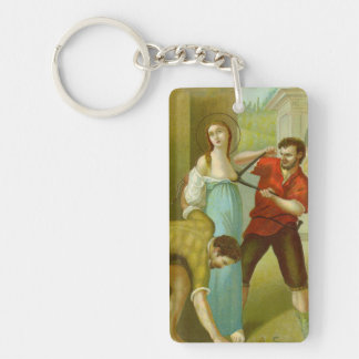 Geisterbild-St. Agatha (M 003) Schlüsselanhänger