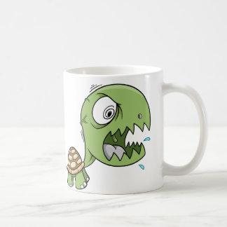 Geisteskranke verrückte starke Schildkröte-Kaffee- Tasse