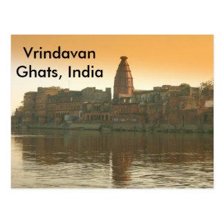 Geistiges Indien Postkarte