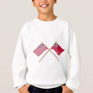 Gekreuzte großartige Gewerkschaft und New- Sweatshirt
