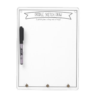 Gekritzel, Skizze, zeichnen Memo Board