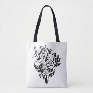 Gekritzel-Tasche Bag_Go grüner Freund