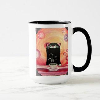Gekrümmte Tür-Studio-Kakaokitty-Tasse Tasse