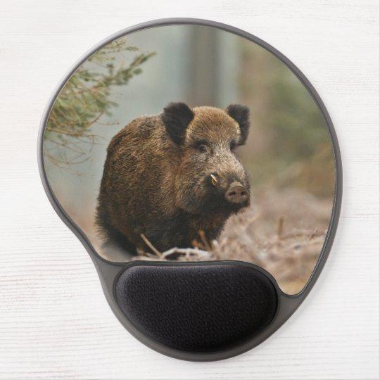 Gel- Mousepad Wildschwein