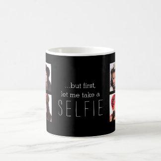 Gelassen mir nehmen Sie ein Selfie Kaffeetasse