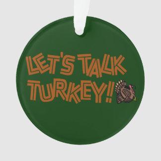 Gelassen uns die Türkei sprechen