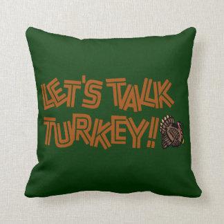 Gelassen uns die Türkei sprechen Kissen