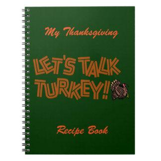 Gelassen uns die Türkei sprechen Notizbücher