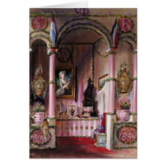 Gelassen uns essen Sie Kuchen Marie Antoinette #4 Karte