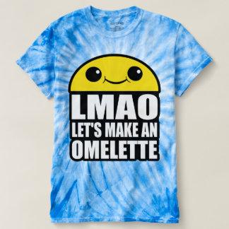 Gelassen uns machen Sie ein Omelett T-shirt