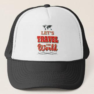 Gelassen uns reisen die Welt Truckerkappe