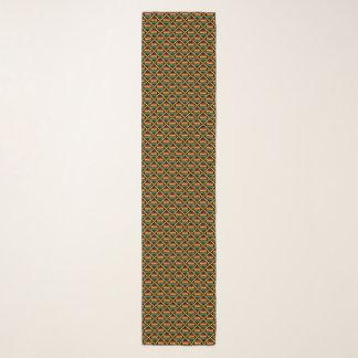Gelb, grün, rot, Schwarzafrikaner Kente Stoff Schal