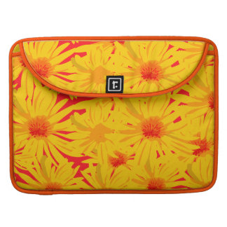 Gelbe Blumen MacBook Prohülsen Sleeves Für MacBook Pro