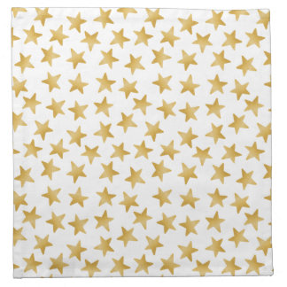 Gelbe Farbsteigung spielt nahtloses Muster die Stoffserviette