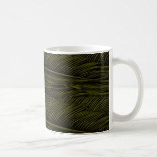 gelbe Federn Kaffeetasse