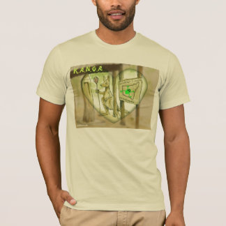 Gelbe Hornissen-Ellen-Waldung T-Shirt