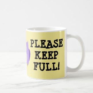 Gelbe neue Mama-Tasse Tasse