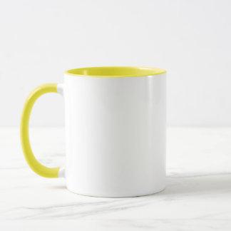 Gelbe Rosen-Moos-Tasse Tasse