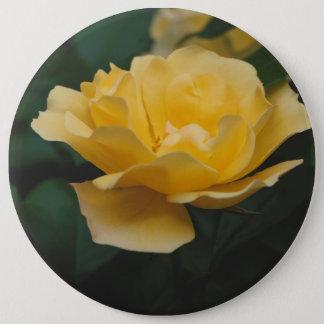 Gelbe Rosen Runder Button 15,3 Cm