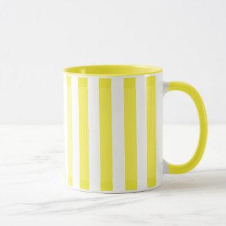 Gelbe Schatten Tasse