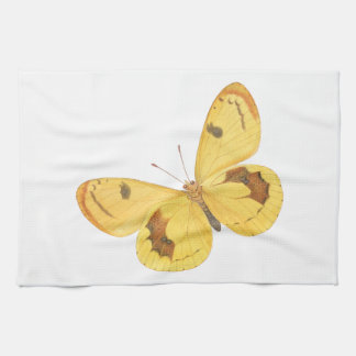 Gelbe Schmetterlinge - Geschirrtuch Küchenhandtücher