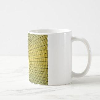Gelbe Skizze Tasse