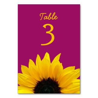 Gelbe Sonnenblume-Blumen-Beeren-Rosa-Hochzeit