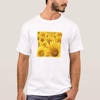 Gelbe Sonnenblumen T-Shirt