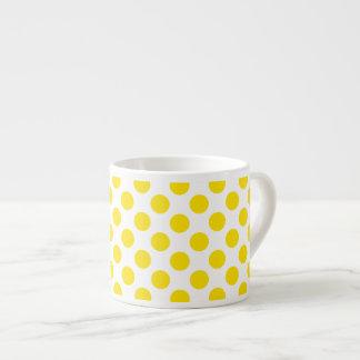 Gelbe Tupfen Espressotasse