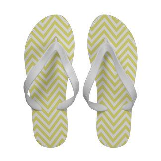 Gelbe weiße Zickzack Zickzack-Zapfen drehen Reinfä