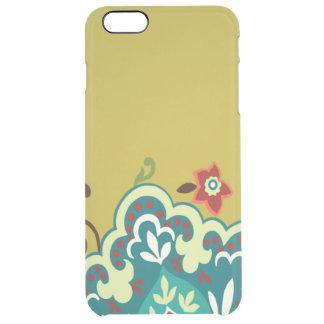 Gelber Blumen iPhone 6/6s Ablenkerkasten Durchsichtige iPhone 6 Plus Hülle