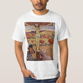 Gelber Christus durch Paul Gauguin, Vintage feine T-Shirt