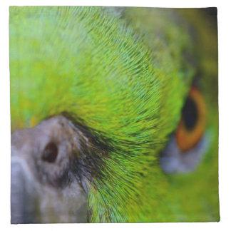 Gelber-Naped Amazonas-Papagei durch Shirley Taylor Stoffserviette