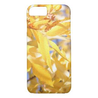 Gelbes Herbst-Blätter iPhone 8/7 Hülle