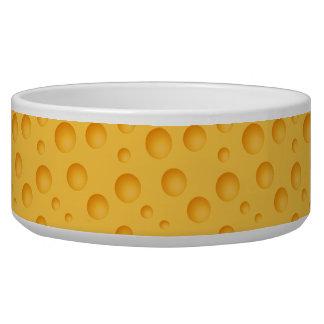 Gelbes Käse-Muster Napf