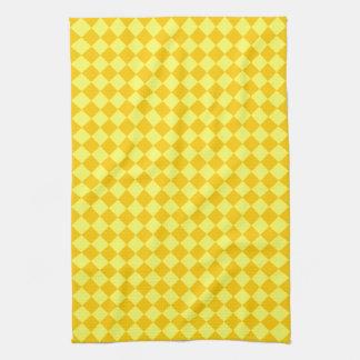 Gelbes Kombinations-Diamant-Muster durch STaylor Küchentuch