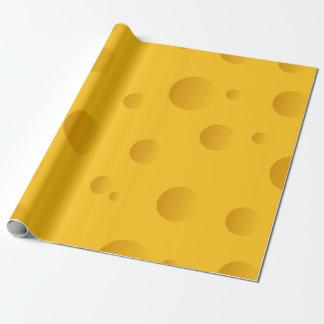 Gelbes Neuheitsbeschaffenheits-Packpapier des Geschenkpapierrolle