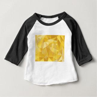 Gelbes Polygon Baby T-shirt