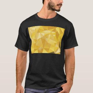 Gelbes Polygon T-Shirt