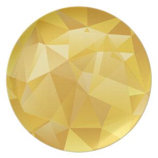 Gelbes Polygon Teller