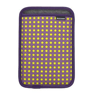 Gelbsterne iPad Mini Sleeve