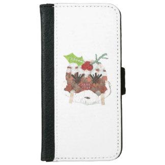 Geldbörsen-Kasten Frau-Pudding IPhone 6/6s Geldbeutel Hülle Für Das iPhone 6/6s