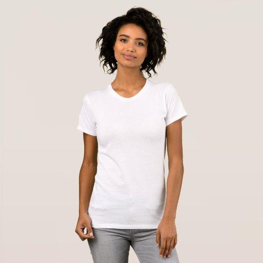 Anliegendes T-Shirt für Frauen