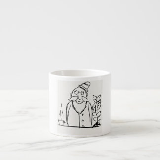 Geliebte des Kaffees Espresso-Tasse