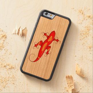 Gelockt-Toed Eidechse Bumper iPhone 6 Hülle Kirsche